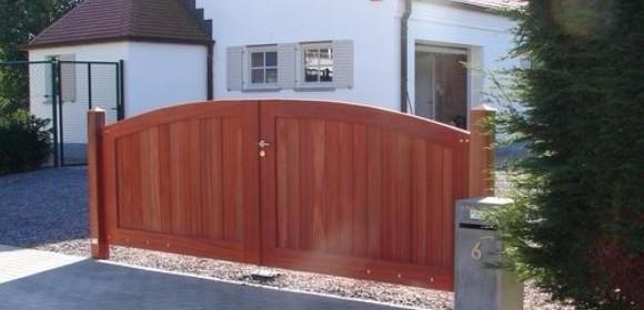 portail d\'entrée en bois, portillons en bois, portails d\'entrée en ...