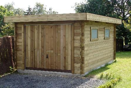Garage en bois tournai carports en bois sur mesure - Garage metallique prefabrique belgique ...
